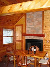 cabin at superior shores resort