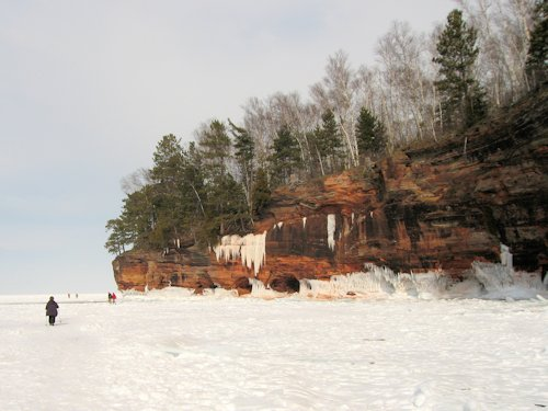bayfield wisconsin ice caves