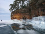sea ice caves apostle islands national lakeshore