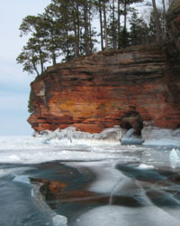 Bayfield, WI Lake Superior Ice Caves