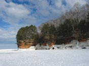 ice and sea caves apostle islands national lakeshore