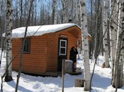 porcupine mountains backcountry cabin